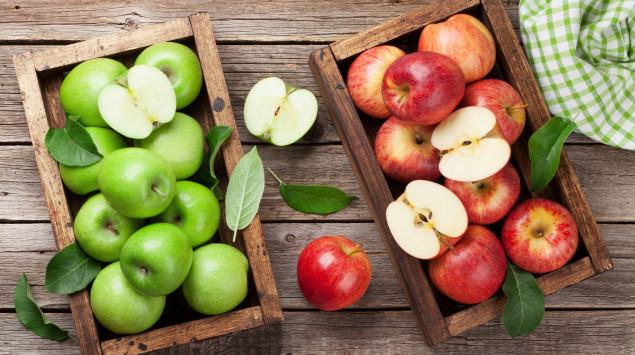Nicht alle Äpfel sind gleich gesund: Ihre Inhaltsstoffe hängen auch von der Apfelsorte ab