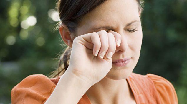 Augenbrennen durch Schlafmangel