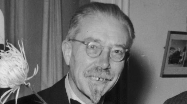 Schwarzweißfoto von Schack August Steenberg Krogh.