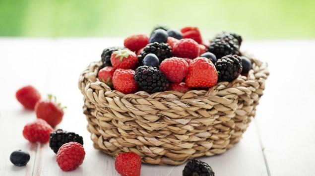 Himbeeren, Brombeeren, Erdbeeren