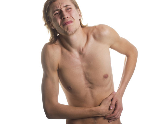 krampfartige schmerzen im oberbauch und durchfall