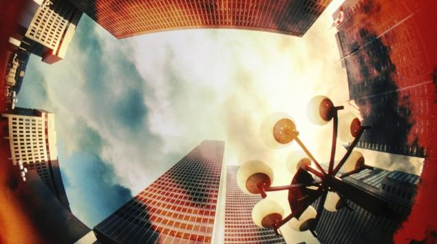 Ein Platz in 360-Grad-Ansicht.