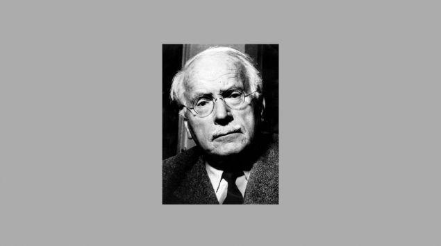 Man sieht eine Aufnahme von Carl Gustav Jung.