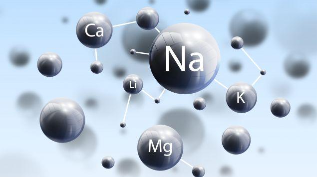 Illustration: Verschiedene chemische Stoffe