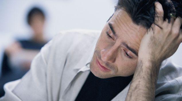 Erschöpfung durch Schlafmangel