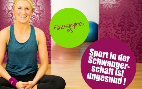 Fitnessmythos 8: Sport in der Schwangerschaft ist ungesund