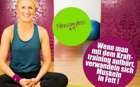 Fitnessmythos 9: Wenn man mit dem Training aufhört, verwandeln sich Muskeln in Fett