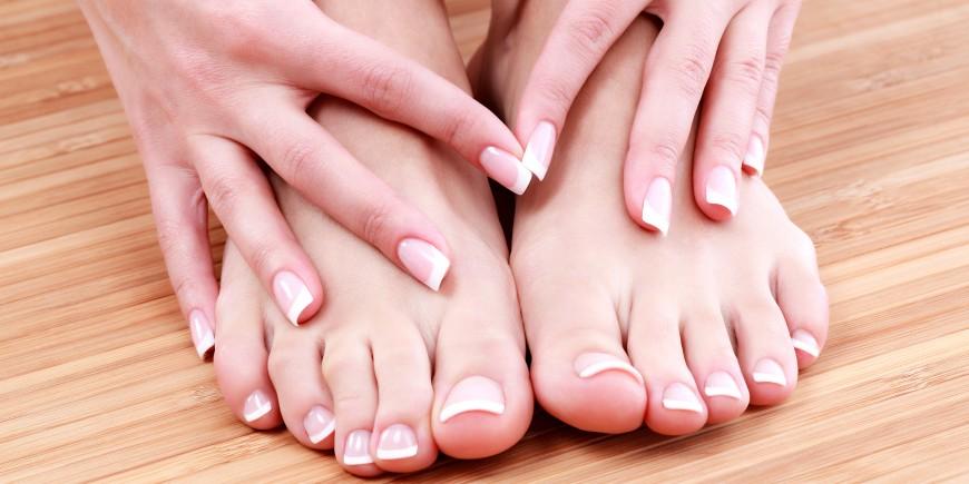 les ongles des pieds