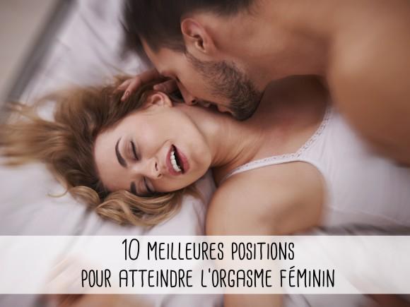 Meilleures positions de sexe pour faire son gicler