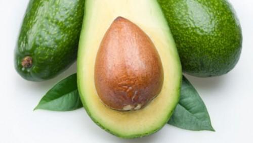 Das Bild zeigt eine Avocado.