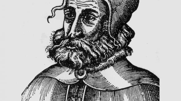 Darstellung von Galen (Claudius Galenus).