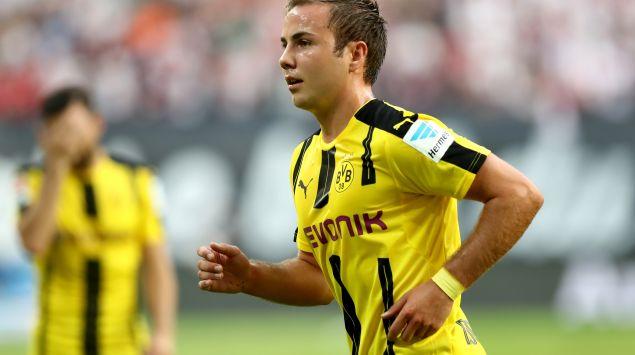 Das Bild zeigt den Fußballspieler Mario Götze.