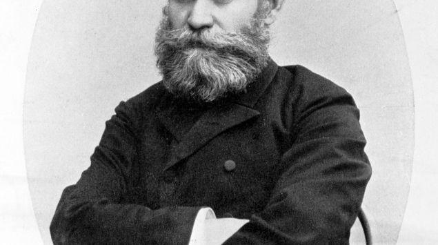 Portrait von Iwan Petrowitsch Pawlow, etwa aus dem Jahr 1900.