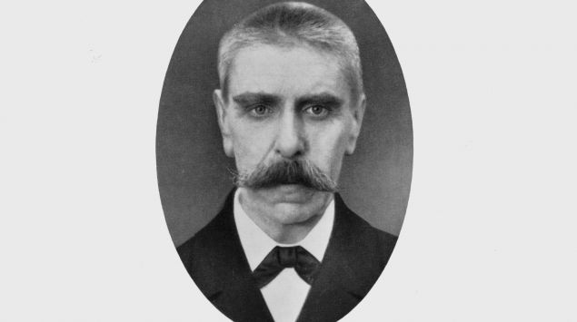 Schwarzweißfoto von Julius Wagner-Jauregg.