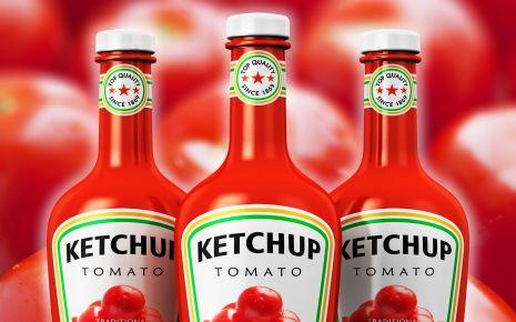 """Es gibt Menschen, die benutzen Ketchup quasi als """"Universalveredler"""" für fast alles. In Maßen ok –industriell hergestellter Ketchup enthält neben Essig, Salz und Gewürzen aber vor allem viel Zucker. Der Zuckeranteil beträgt teilweise rund 25 Prozent."""