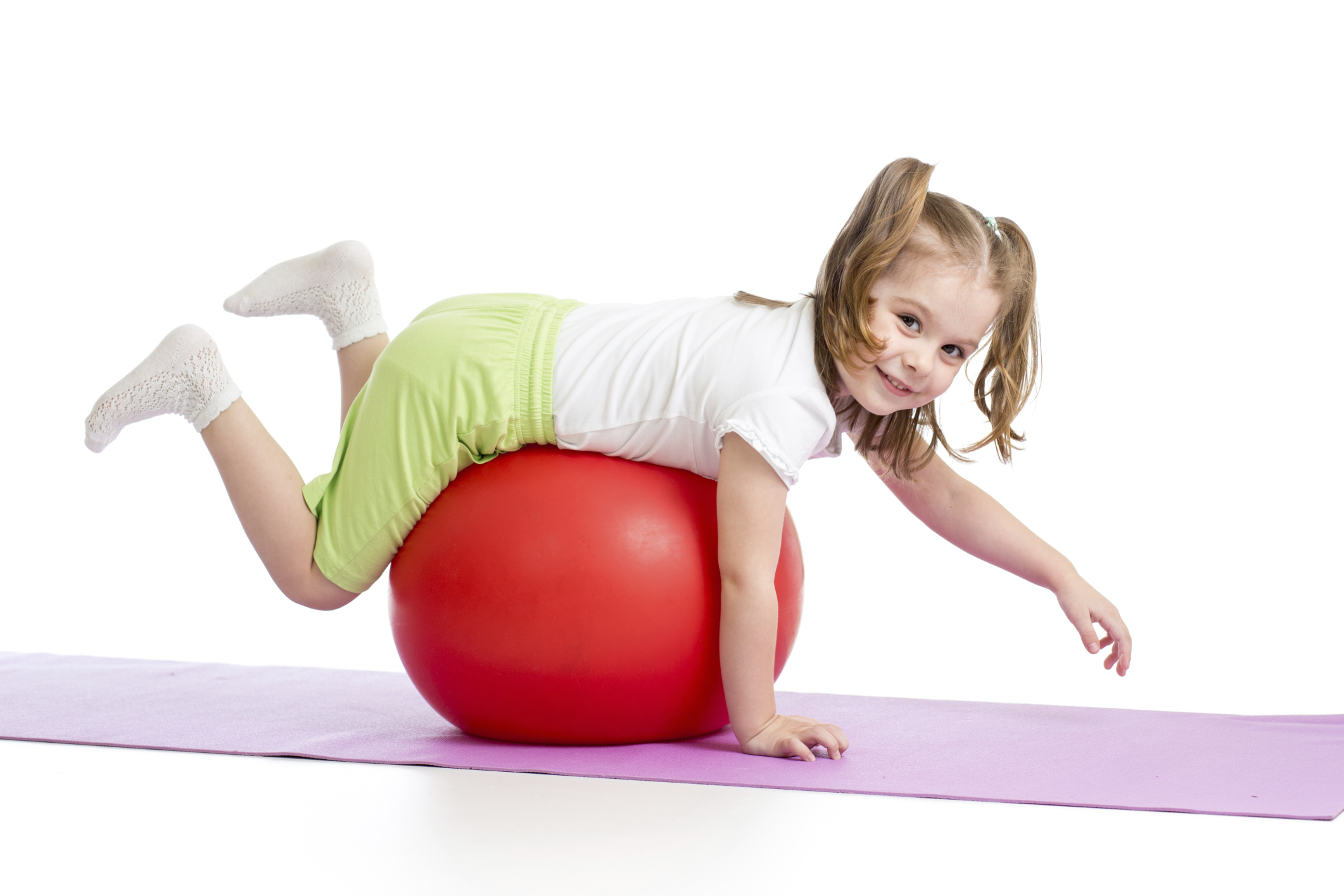 Früh übt sich: Eine gute Körperwahrnehmung verhilft Kindern zu einer verbesserten Motorik.