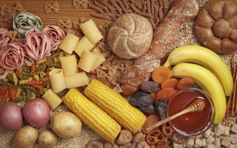 Diabetes - Tipps für die Ernährung: Verschiedene kohlenhydratreiche Lebensmittel