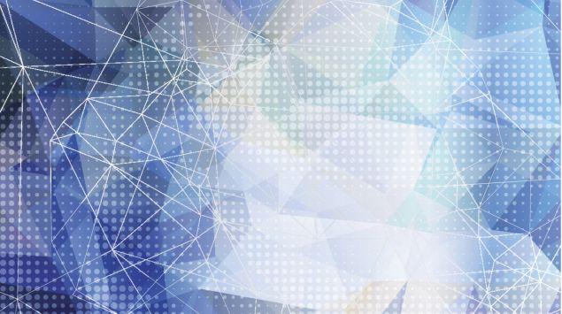 Schmuckbild: Darstellung von kristallinen Mustern