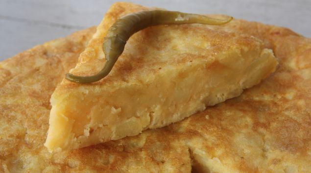Das Bild zeigt einen Tortilla mit Kürbis.
