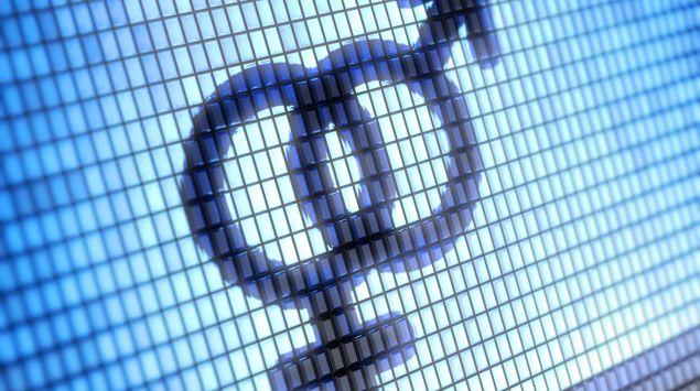 Das Bild zeigt ineinander verschlungende Zeichen für männlich und weiblich.