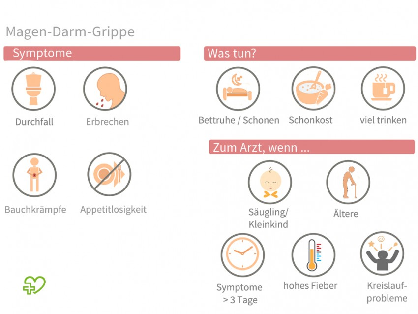 symptome magen darm virus