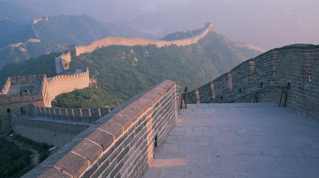 Das Bild zeigt die chinesische Mauer.