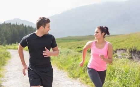 Zu einem gesunden Lebensstil gehört nicht nur eine ausgewogene Ernährung, sondern auch reichlich Bewegung!