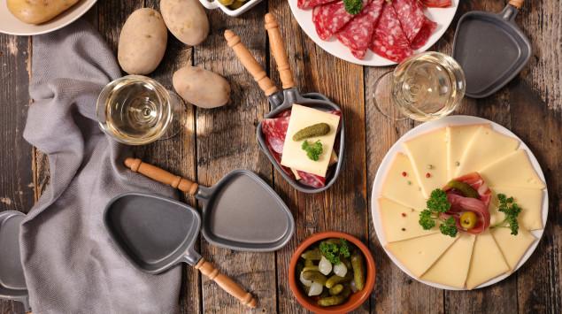 Gesundes Raclette