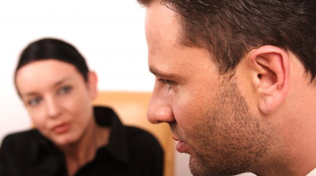 Das Bild zeigt einen Mann und eine Frau.