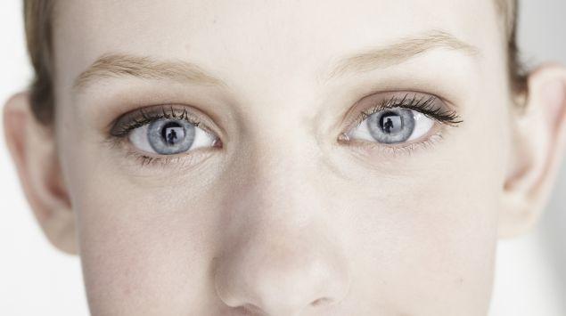 Das Bild zeigt das Gesicht einer Frau.