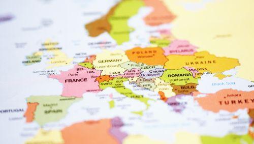 Das Bild zeigt eine Landkarte.