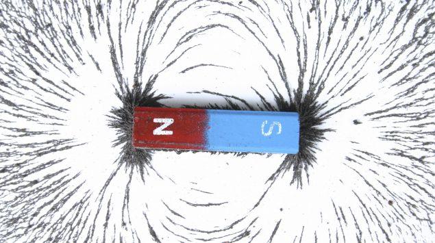 Das Bild zeigt einen Magneten.