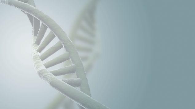 Das Bild zeigt einen Gen-Strang.