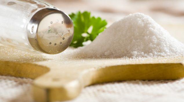 Das Bild zeigt Salz.