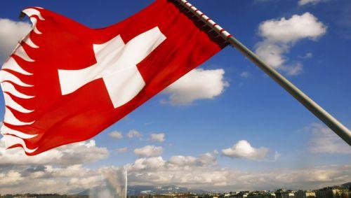 Das Bild zeigt die schweizer Flagge.