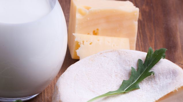 Das Bild zeigt Milchprodukte.