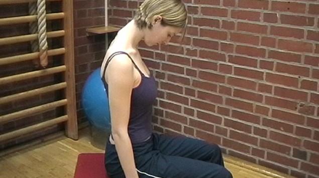 Rückenschule Übung 1