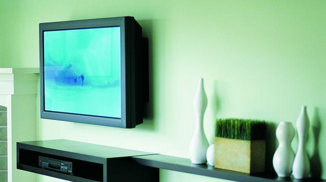 Das Bild zeigt einen Fernseher.