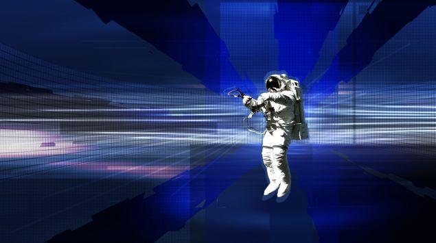 Das Bild zeigt einen Astronauten.