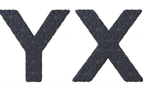 Die Buchstaben X und Y