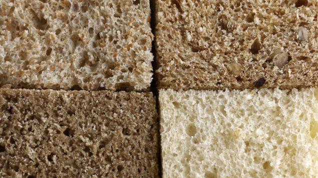 Verschiedene Brotsorten.