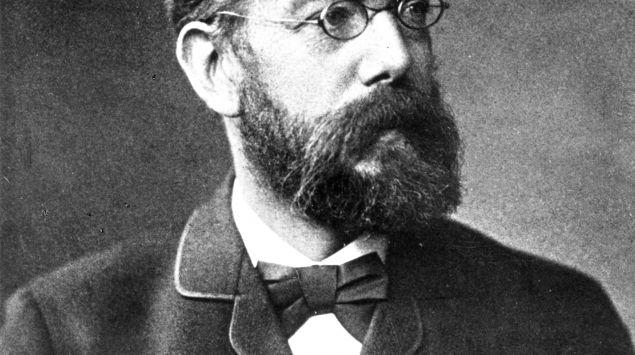 Ein Porträt von Robert Koch.