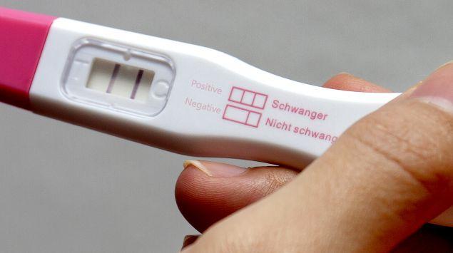 positiver Schwangerschaftstest