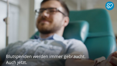 Screenshot zum Video: Coronavirus durch Blutspende