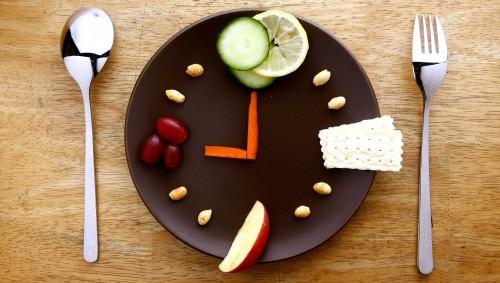 Ein Teller mit Rohkost