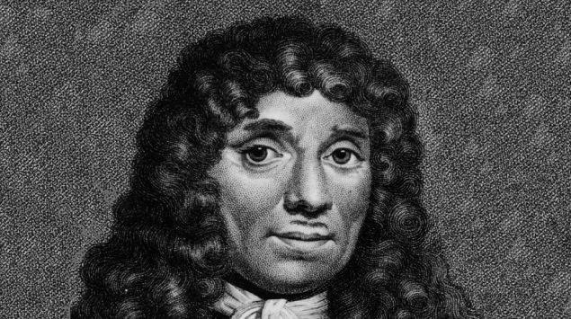 Portrait von Antonie van Leeuwenhoek (ca. aus dem Jahr 1675).