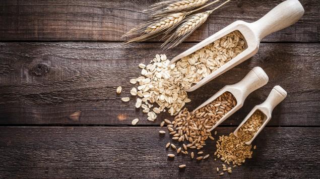 Verschiedene Getreidesorten