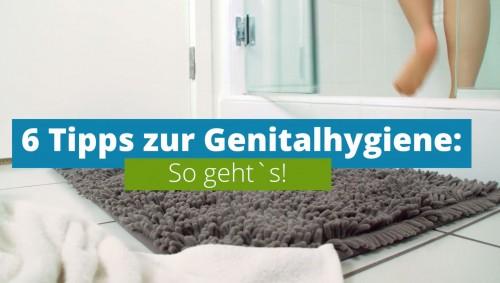 Screenshot: Video Genitalhygiene