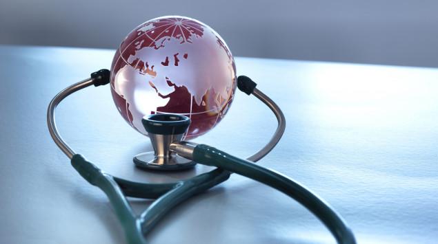 Bei einer Pandemie kommt es zeitlich gehäuft zu einer weltweiten Ausbreitung einer Infektionskrankheit.
