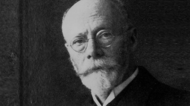 Ein Porträt von Willem Einthoven.